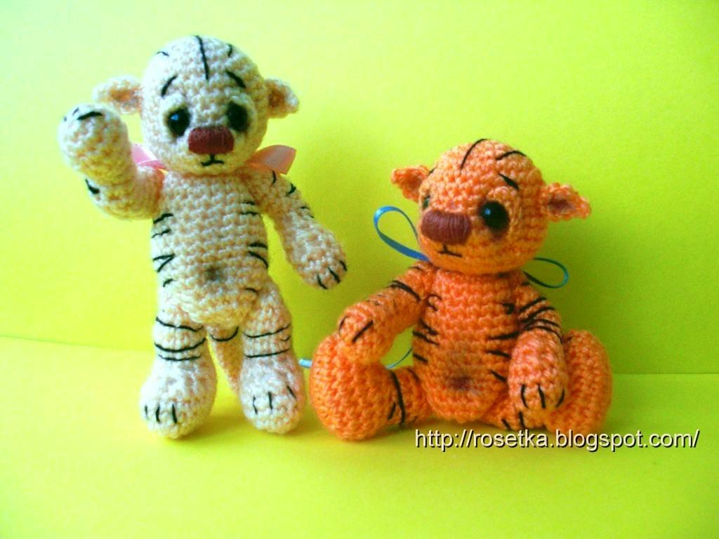 Тигрята амигуруми Thread Teds (мастер-класс)