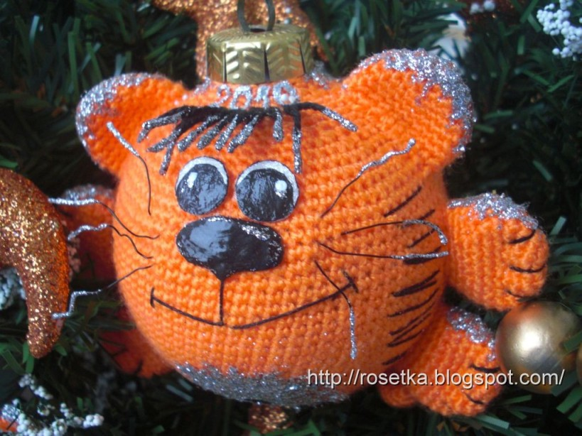 Новогодний «Тигрошарик»