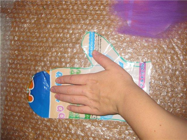 Валяем рукавички (мастер-класс)