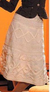 Вязаная юбка «Маджестик»