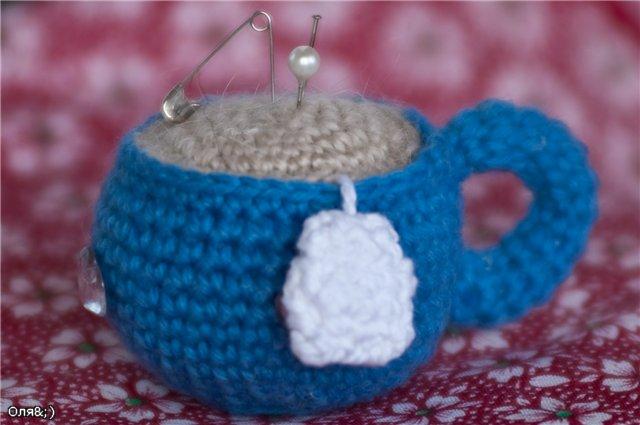 Игольница «Чашка чая»
