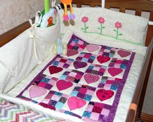 Шьем комплект для детской кроватки