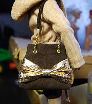 Кукольная сумочка из тонкой замши (мастер-класс)