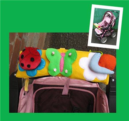 Игрушка в коляску: на прогулку весело и с пользой!