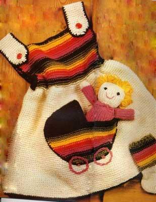 Сарафан с куклой в кармане