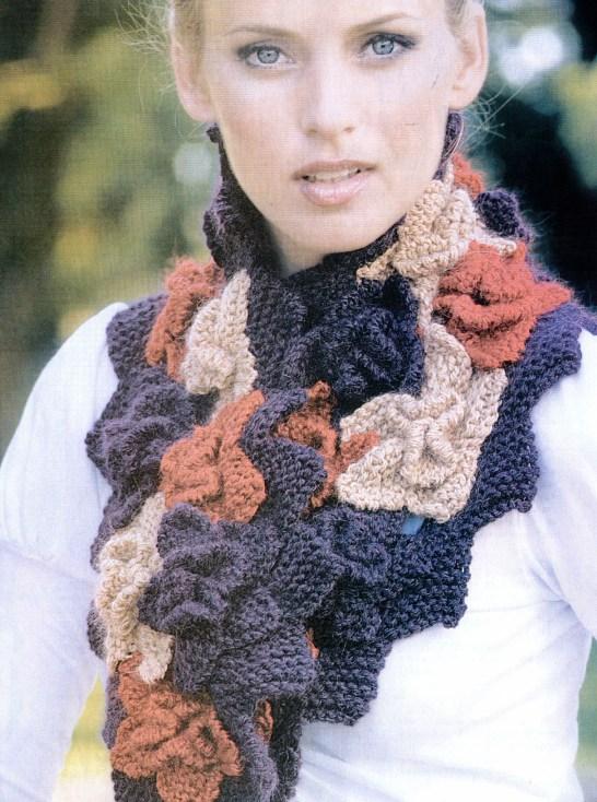 Интересные шарфы