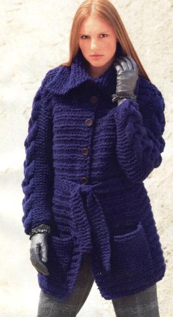 Длинный жакет (пальто)