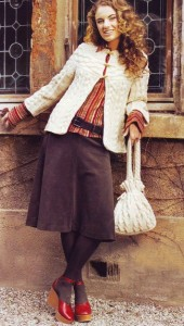жакет и сумка спицами