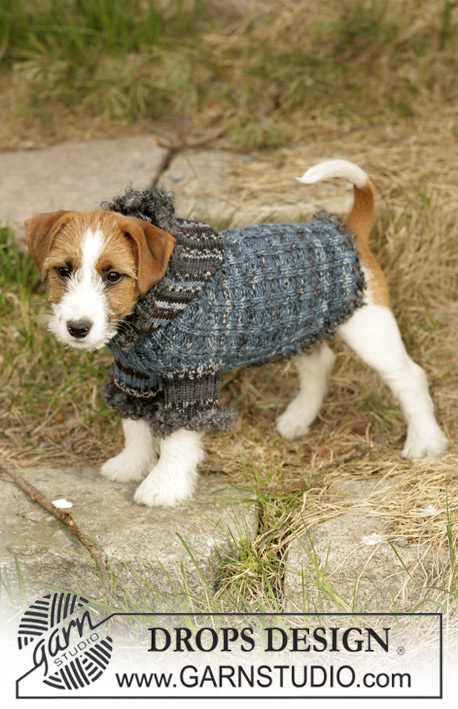 Вязание для собак (теплый свитер)