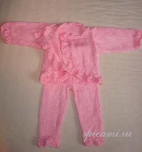 кофточка и штанишки для малыша