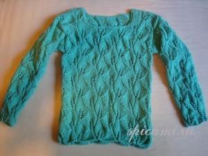 вязаный пуловер купить