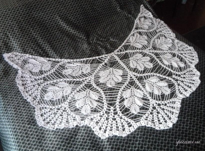 Вязание шалей (авторские работы)