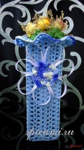 ваза крючком