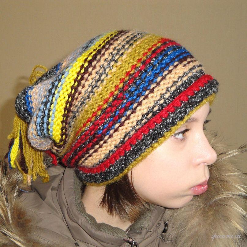 Вязаные шапки от Ольги, выбирайте!