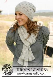 ажурная шапочка и шарф