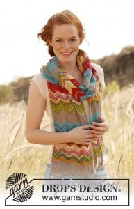 вязаный шарф