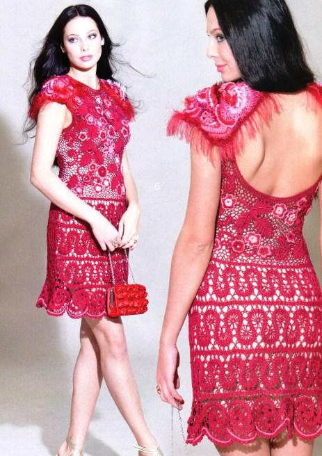 Платье «Вишневое танго»