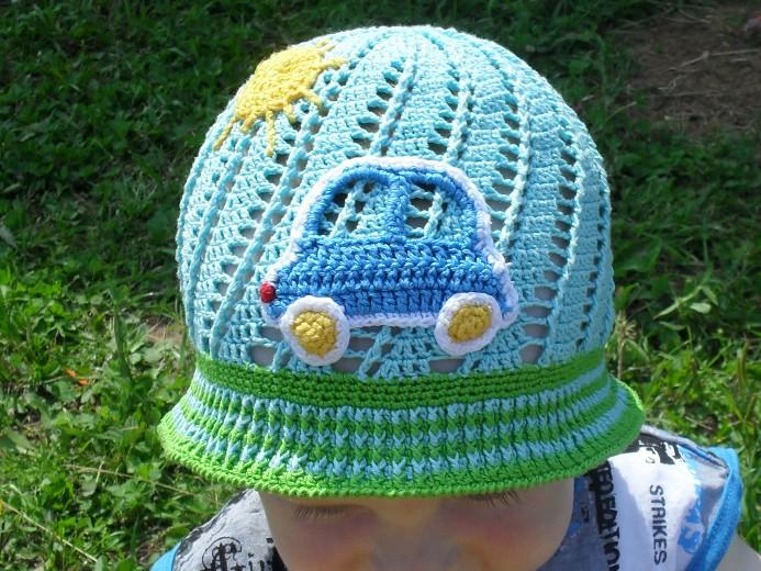 Панамка для мальчика «Юный автомобилист»