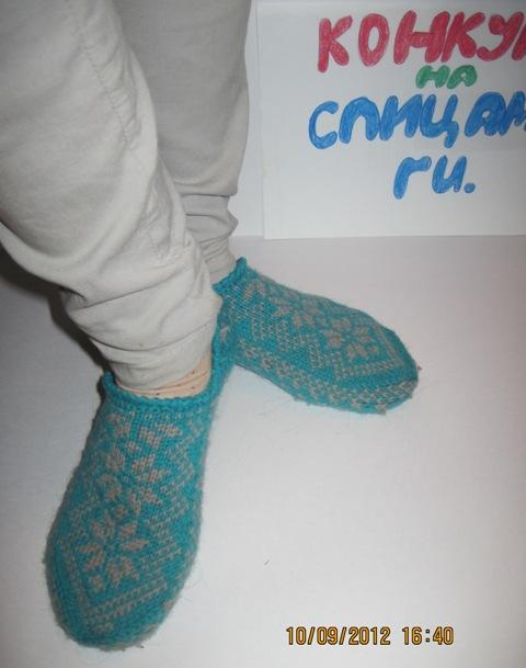 Вязаные носочки для всей семьи
