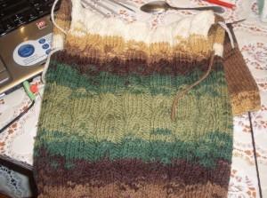 вяжем свитер для малыша