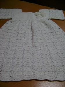 вяжем платье для девочки нарядное