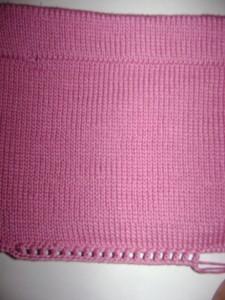 вяжем юбку спицами и крючком для девочки
