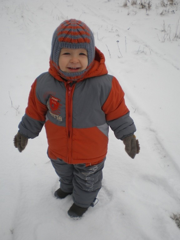 Комплект для зимней прогулки для мальчика на 1,5 — 2,5 года