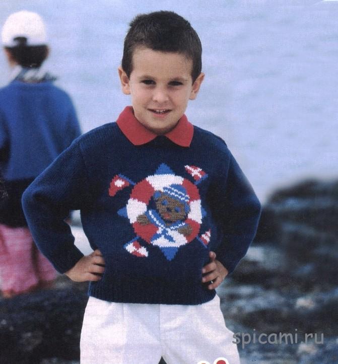 Пуловер со спасательным кругом