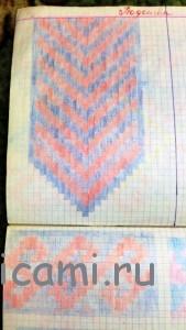 схема носки джурабы