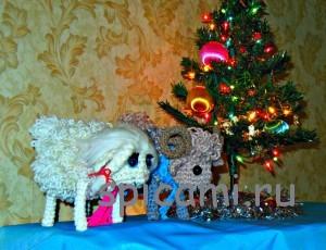 овечка и барашек крючком