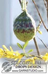 вяжем яйца спицами