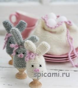 вязание на пасху грелки для яиц
