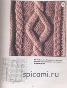 араны схемы вязания