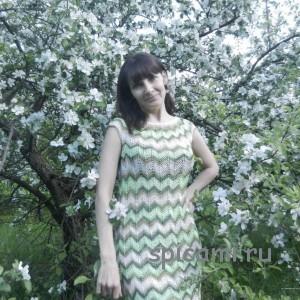 вязаное платье миссони