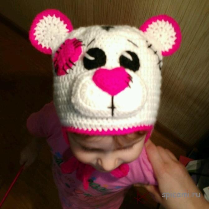 Зверо-шапочки для малышей