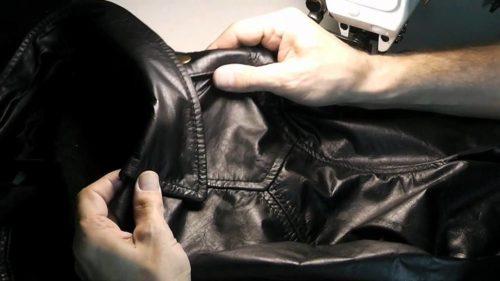 восстанавливаем кожаную куртку