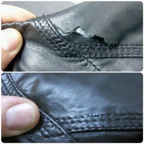 восстановить кожаную куртку