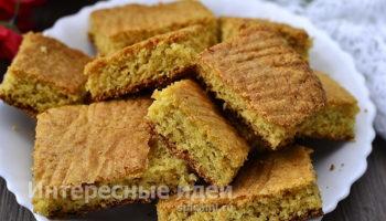 Простой рецепт мягкого печенья за 2 минуты