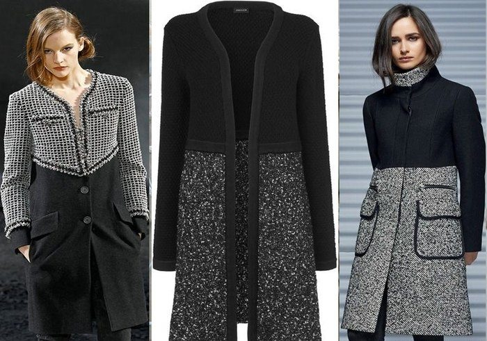 переделать новое пальто из старого