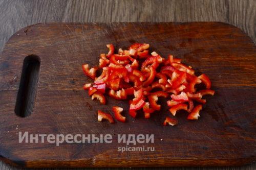 нарезать перец