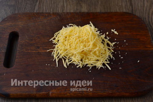 сыр натереть