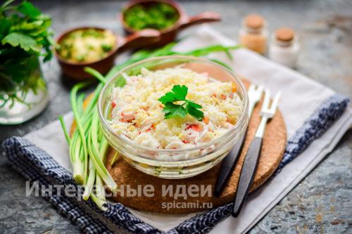 "салат ""Новинка"" готов"