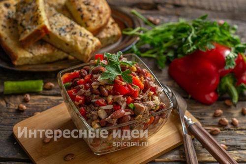салат Тбилиси готов