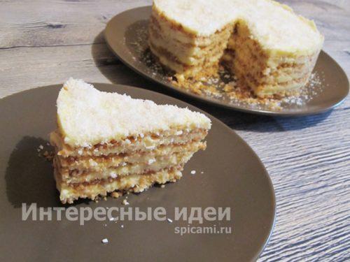 """торт """"Пломбир"""" готов"""