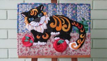 Кинусайга (пэчворк без иглы): для тех, кто не любит шить