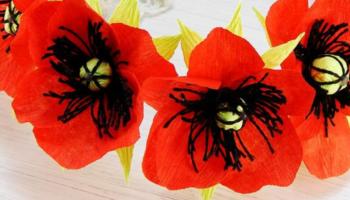 10 мастер-классов! Цветы из бумаги своими руками
