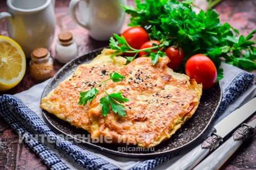 закуска из лаваша готова