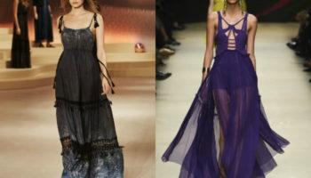 Сарафаны 2019 год: модные новинки
