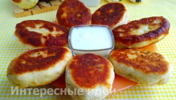 Пирожки за 5 минут — простое тесто