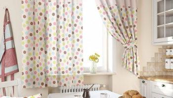 Как оформить окно на кухне: шьем уютные шторы